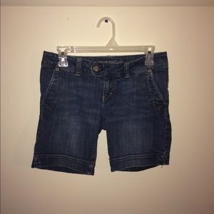 American Bermuda jean shorts